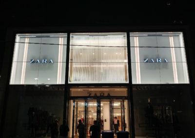 storefront after
